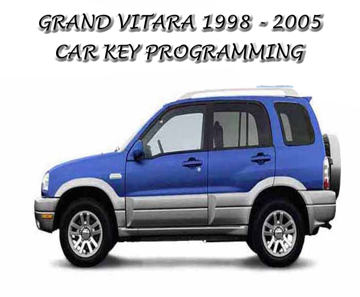 suzuki grand vitara key