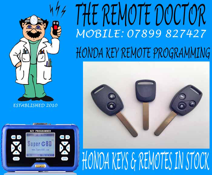 honda car key remote