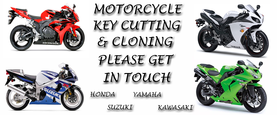 Motorcycle Key Cutting & Cloning in Weston Super Mare