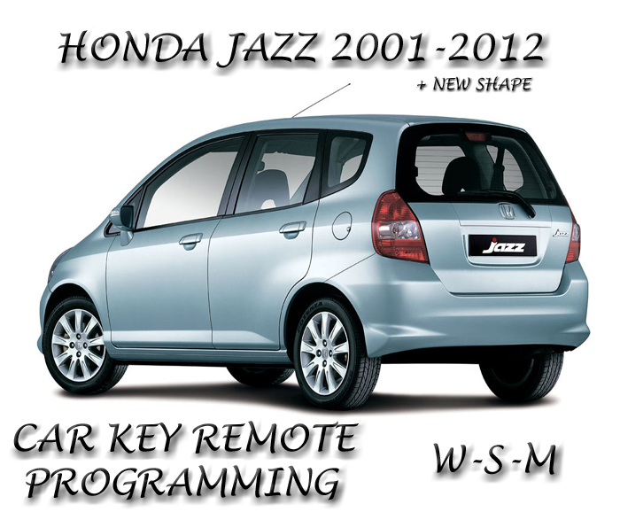 honda jazz car key