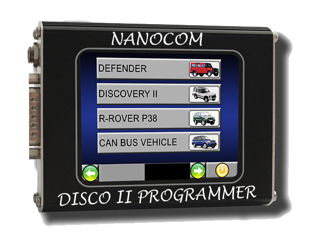 Discovery II key remote programming